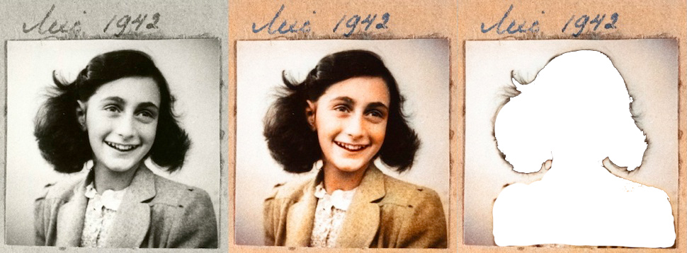 Anne Frank removed