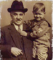 Milton Hershey and boy