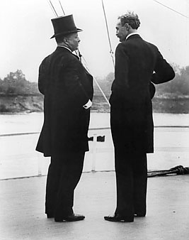 Teddy Roosevelt and Gifford Pinchot