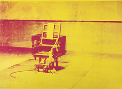 Warhol Electric chair